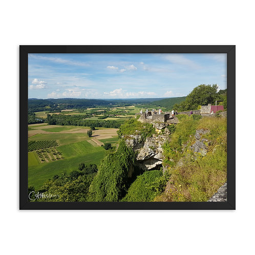 Lookout over Dordogne valley