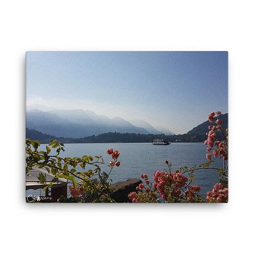 Italian Lakes Canvas