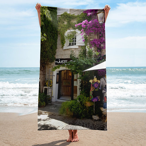 French Riviera Towel