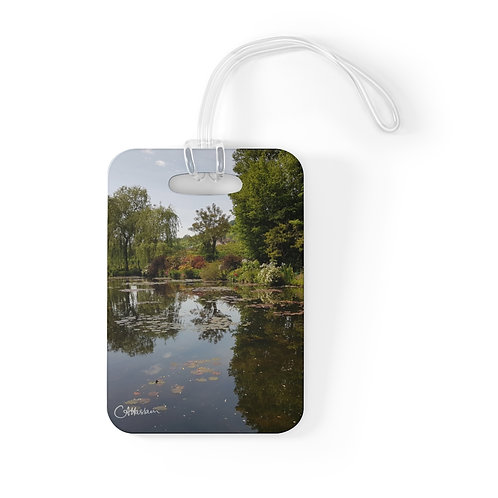 Monet's Garden Bag Tag