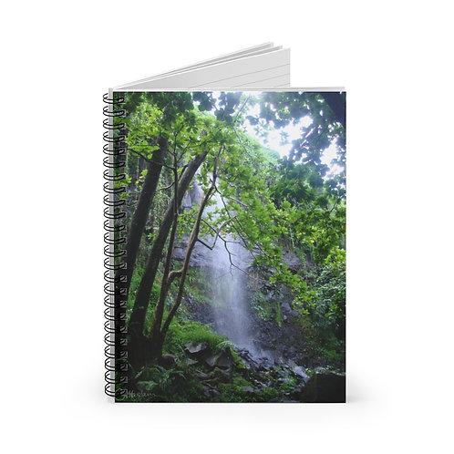 Reunion Is. Waterfall A5 Notebook