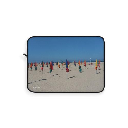 Deauville Beach Laptop Sleeve