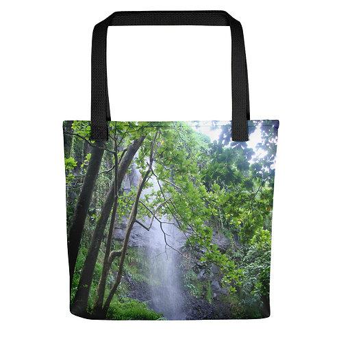 Reunion Island Waterfall Tote bag