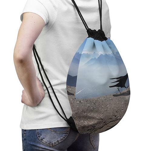 The Innsbruck Bird Drawstring Bag
