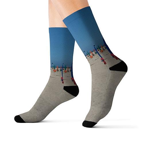 Deauville Beach Socks