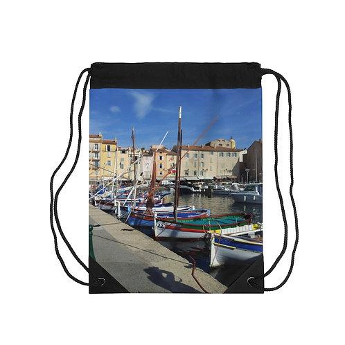 Boats Drawstring Bag