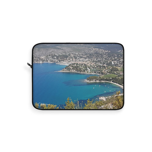 The Bay of Cassis Laptop Sleeve