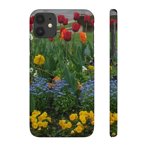 Tulips Slim Phone Cases