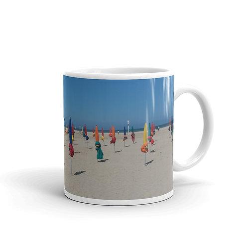 Deauville Beach Coffee Mug