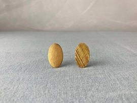Gold leaf Brooch / necklace