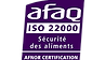 AFAQ ISO 22000 qualité afnor certification