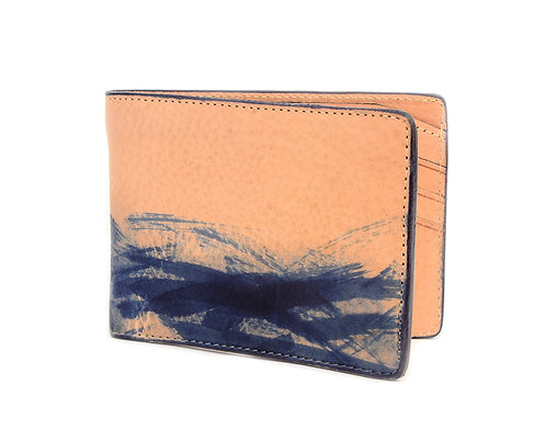 Japanese Brushed Bi-Fold Wallet