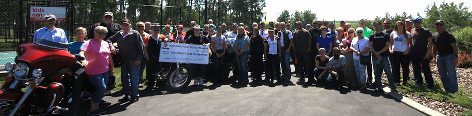 POCKAR Motorcycle Rally 2015 Charity Fundraiser Kids Cancer Foundation of Alberta