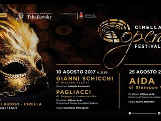 August 10, 2017 Upcoming Performance of Gianni Schicchi