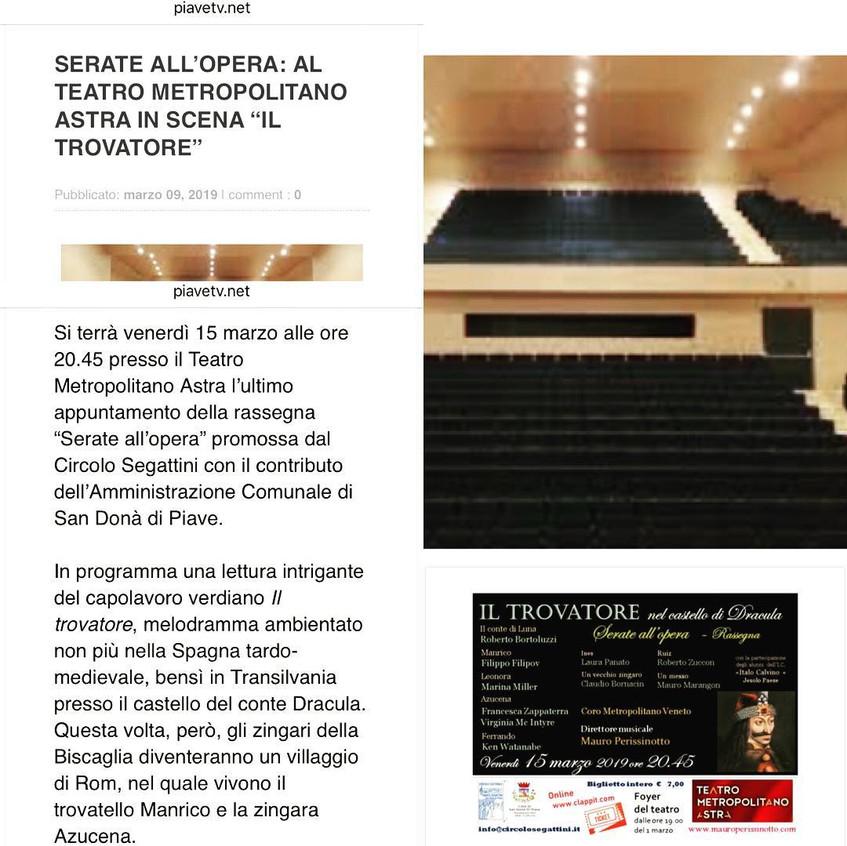 Il Trovatore press release