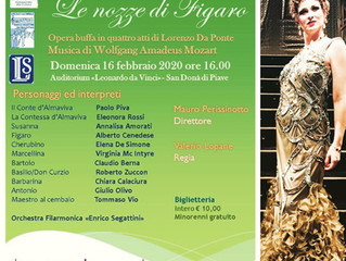 "Role Debut as Marcellina in Mozart's ""Le Nozze di Figaro"""