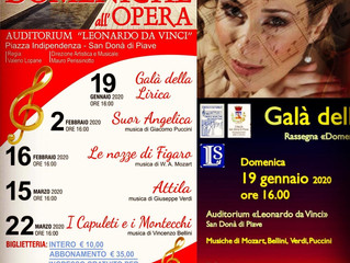 Opera Galà in Venice with the E. Segattini Philharmonic Orchestra
