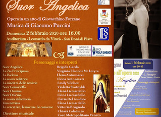 "So happy to sing the role of Zia Principessa in ""Suor Angelica"""