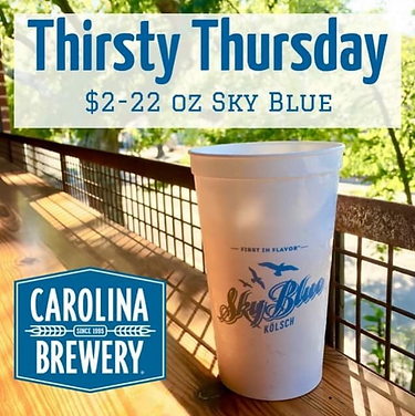 Carolina brewery thirsty thursday.PNG