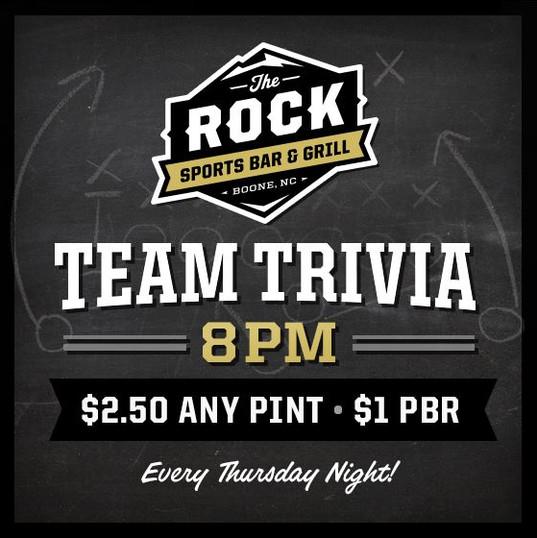 The Rock Team Trivia