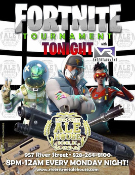 Fortnite Tournament Night Rivers St. Ale House
