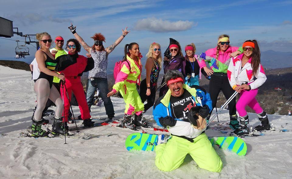Retro '80s Weekend at Beech Mountain Ski Resort