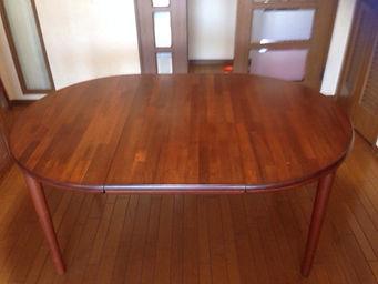 テーブル天板リメイク