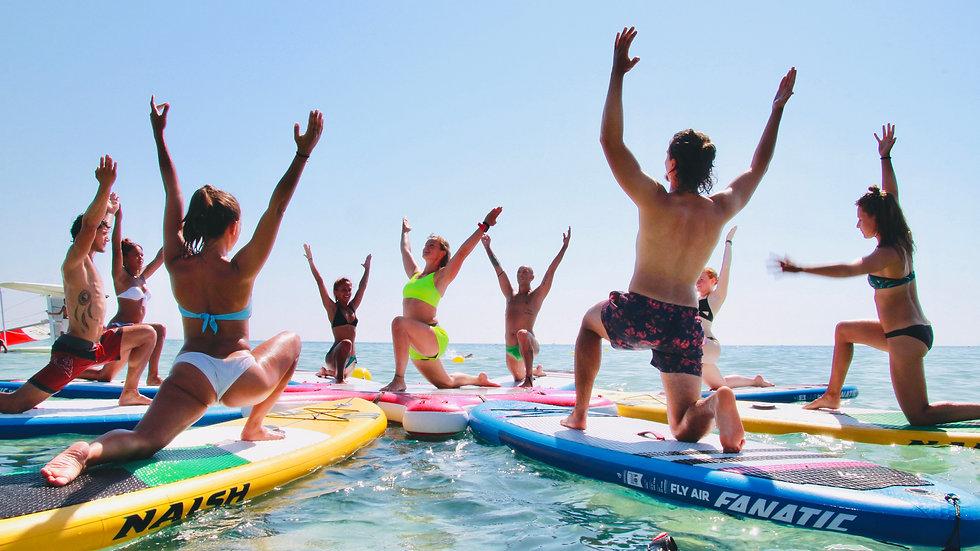 Probetraining SUP- Yoga/ Fitness