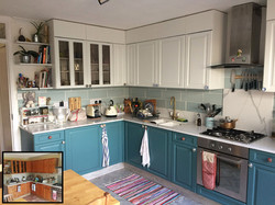 Little Greene Pearl Colour & Tea with Florence Kitchen - DIY Option