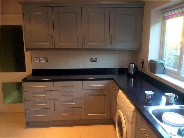 Kitchen Door Spraying Northern Ireland