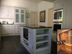 Framed Kitchen with a handle change