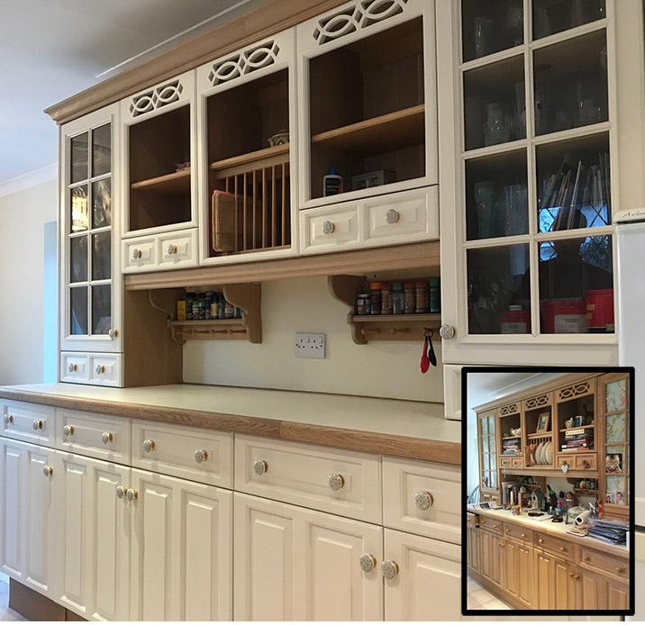 Little Greene Hollyhock kitchen