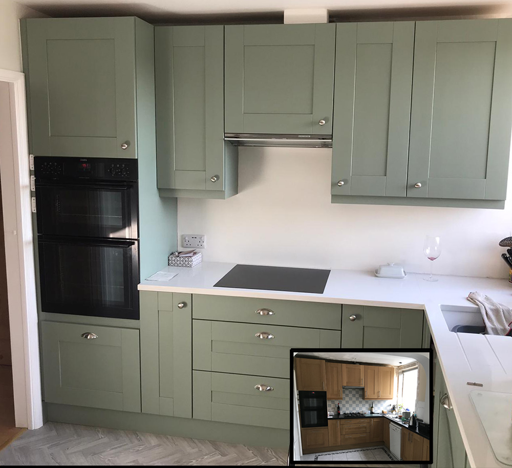 Little Greene Windmill Lane Painted KitchenKitchen