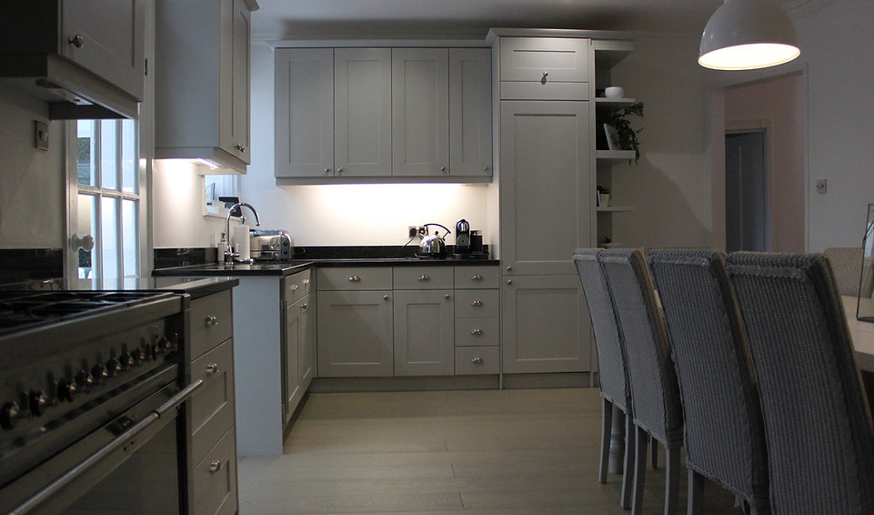 Spray Painted Furniture and Kitchens