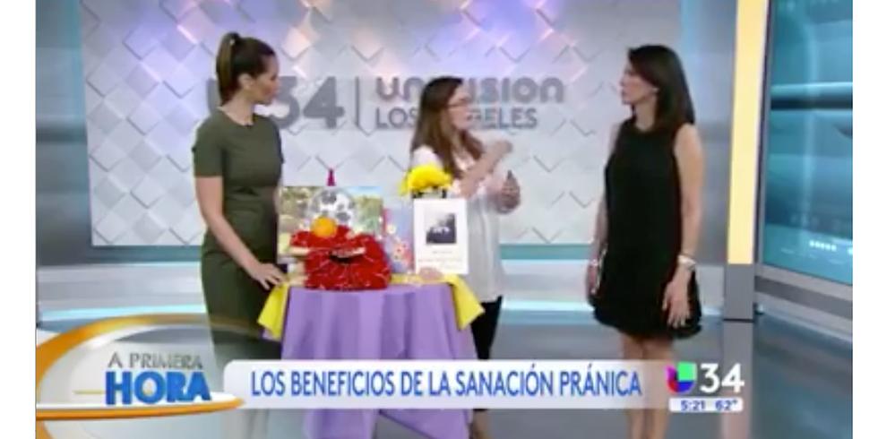 MCKS Sanación Pránica Nivel 1 con Marcela Arrieta