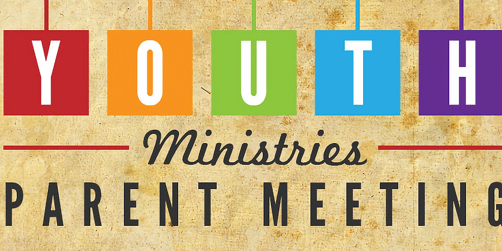 Youth Group Parents Night