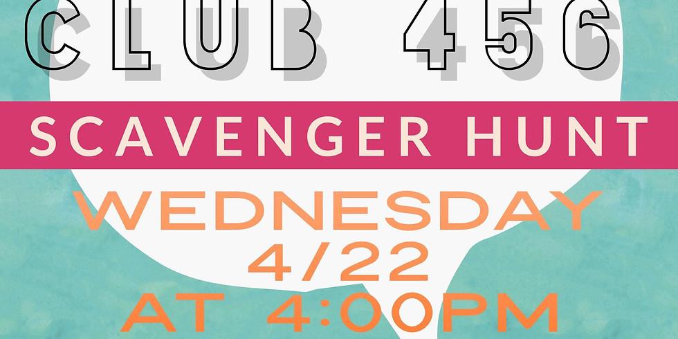 Club 456 Scavenger Hunt