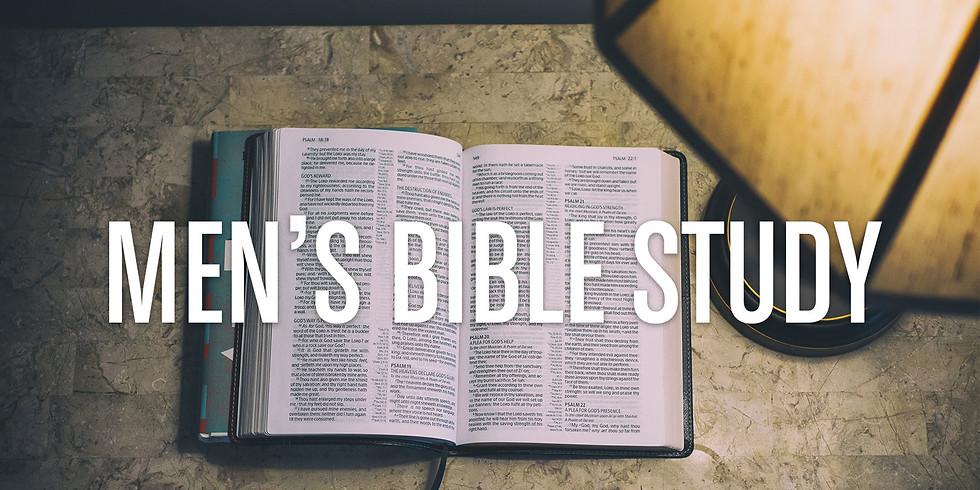 Weekly Men's Bible Study