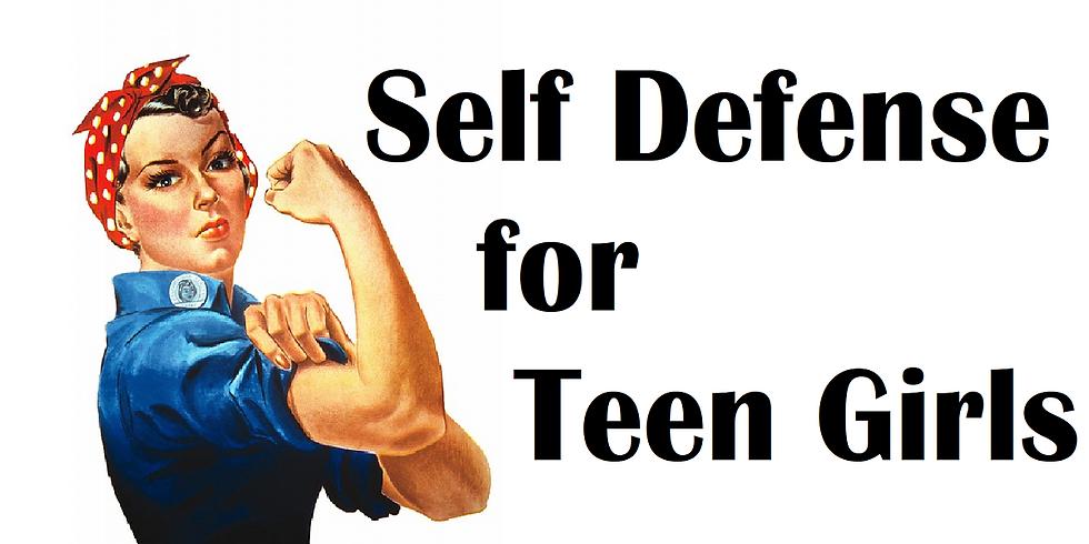 Teen Girls Self Defense Class