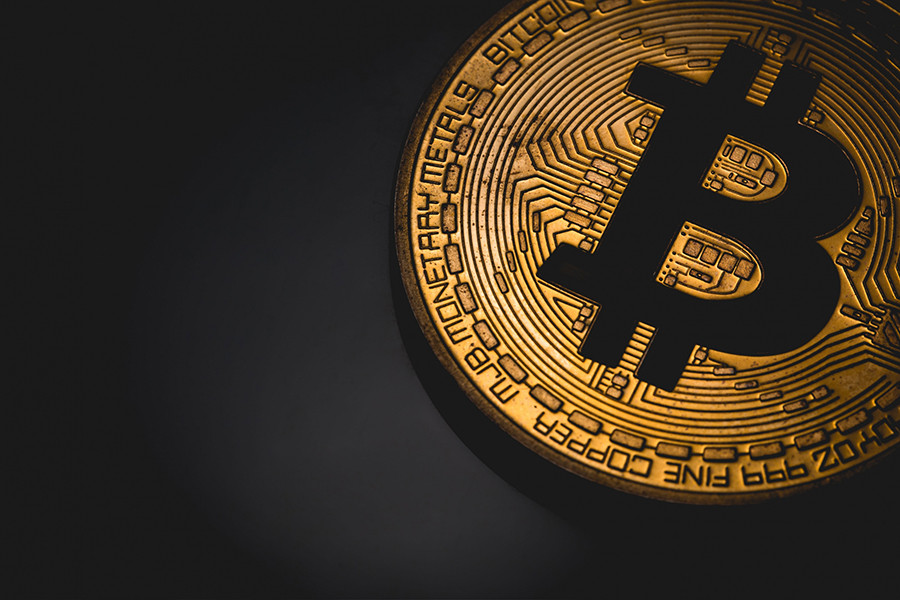 Photo of a bitcoin cryptocurrency matthew feargrieve