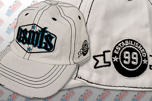 "USMTS ""Established 99"" Hat (White)"