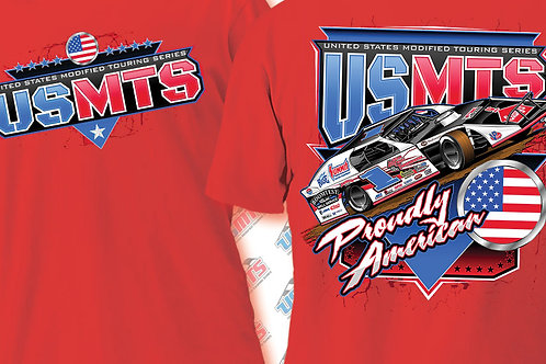 """USMTS """"Proudly American"""" Shirt"""