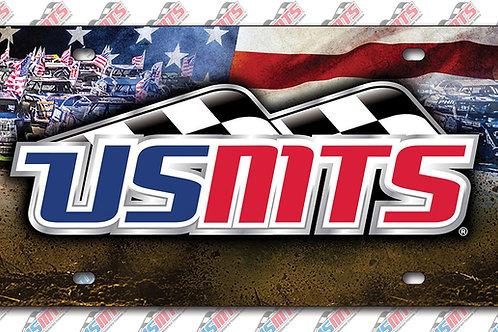 USMTS Inlaid License Plate