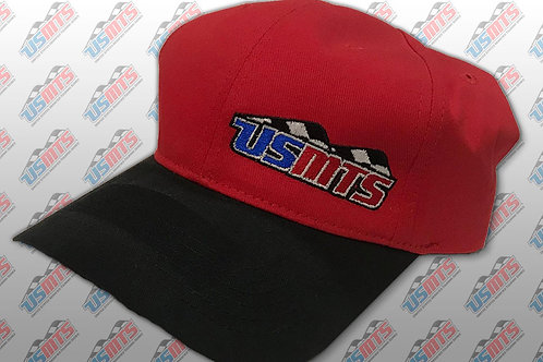 Adjustable Hat (Red/Black)