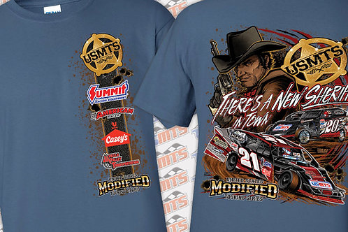 """USMTS """"There's a new Sheriff in Town"""" Shirt"""