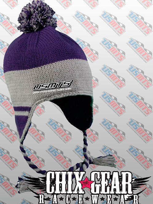 USMTS Knit Beanie with Earflaps