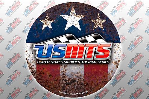 "USMTS 3"" Round Decal"