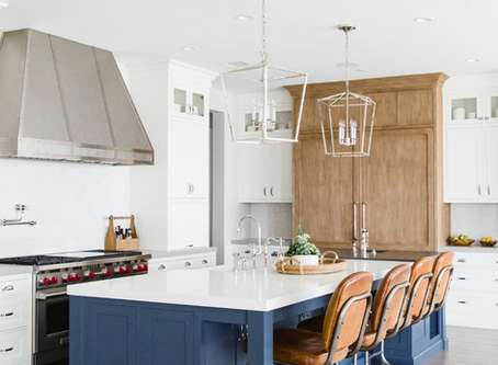 {Design Trend} Three-Tone Kitchens