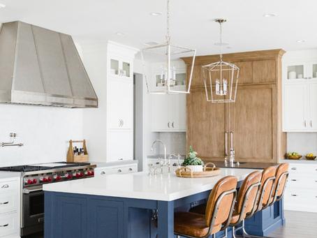 {Design Trend} Three-Tone Kitchens