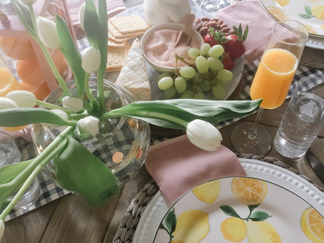 Easter Brunch, Carriage House Studio Style
